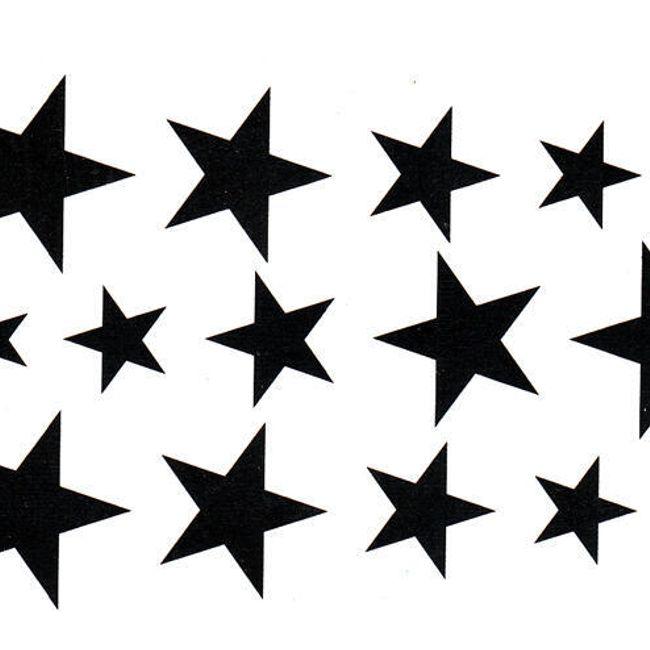 Začasna tetovaža - zvezdice 1