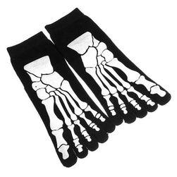 Muške čarape za nožne prste sa rtg printom