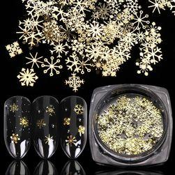 Ozdoby na nehty Snowflake