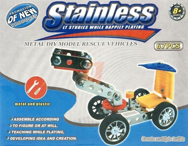 Stavebnice modelu záchranného vozidla 1