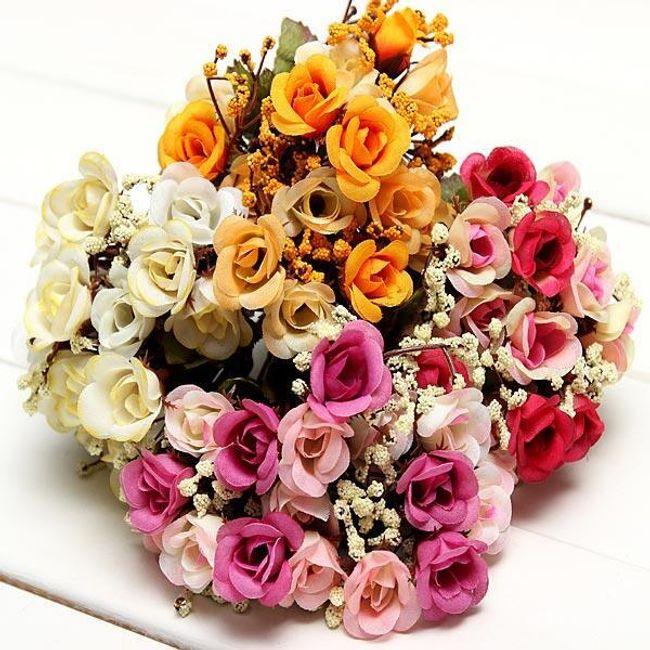 Букет изкуствени рози 1