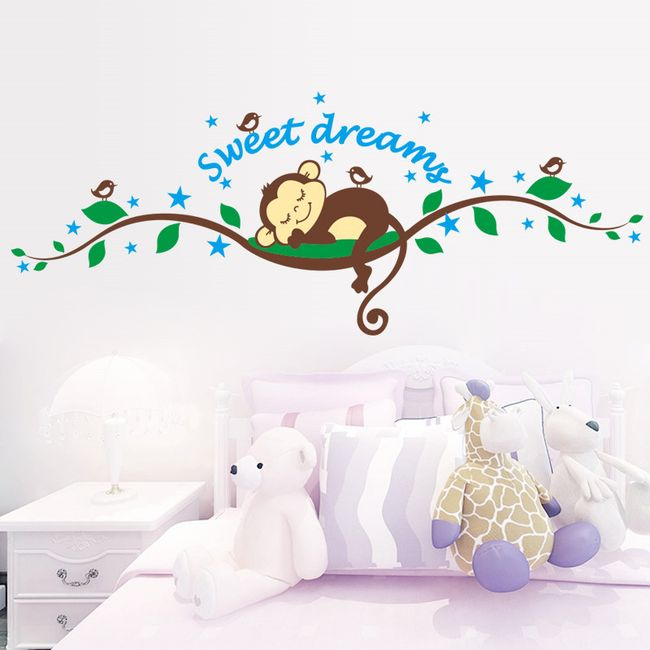 Samolepka do pokojíčku - sladké sny 1