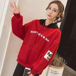 Ženski duks Kendall Crvena - veličina XL
