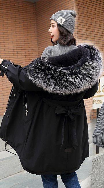 Női téli kabát Netty 1