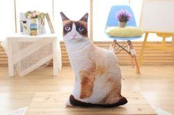 Плюшена котка - 50 см