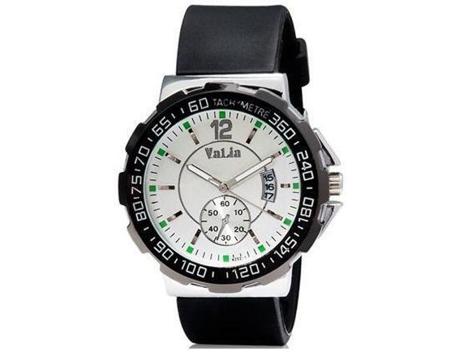 Pánské hodinky Valia se silikonovým páskem - 3 barvy 1