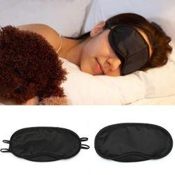 Crna maska za oči za spavanje