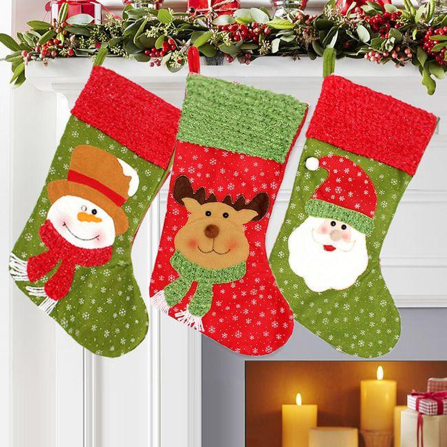 Karácsonyi harisnya három motívum 1