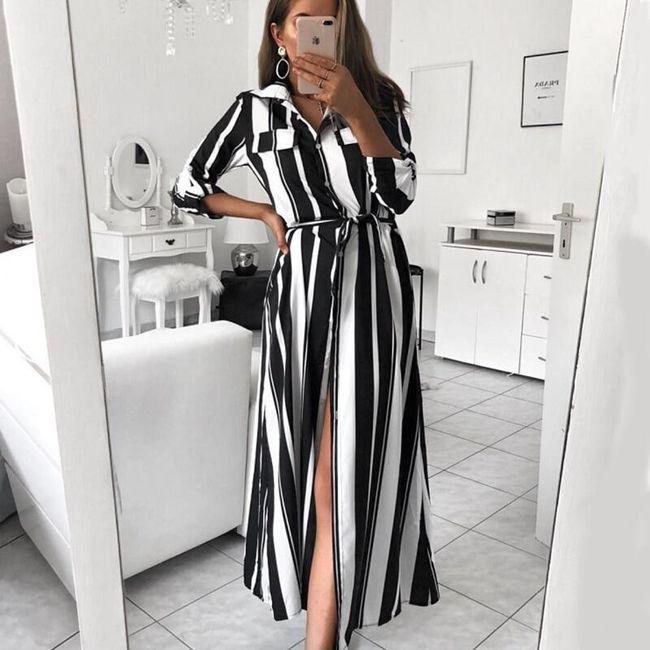 Dámské šaty s dlouhým rukávem Logistilla 1