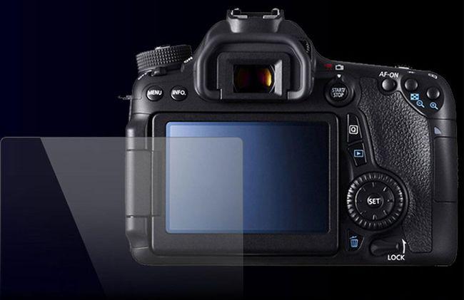 Tvrzené ochranné sklo na fotoaparát Canon EOS, 70D, 80D  1