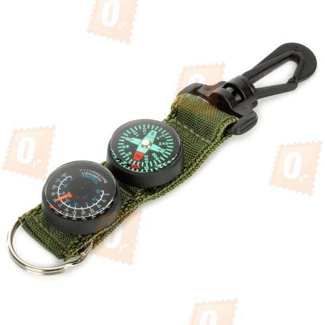 Breloczek z kompasem i termometrem 1