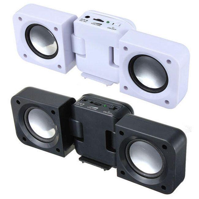 Přenosné stereo repráčky pro mobilní telefony, přehrávače nebo notebooky 1