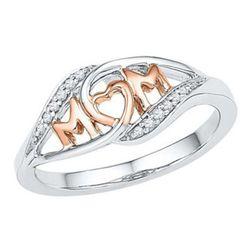Dámský prsten s nápisem MOM - více velikostí