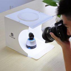 Összecsukható doboz a termékfotózáshoz + 6 színes fotó háttér