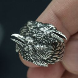 Męska obrączka Corvus