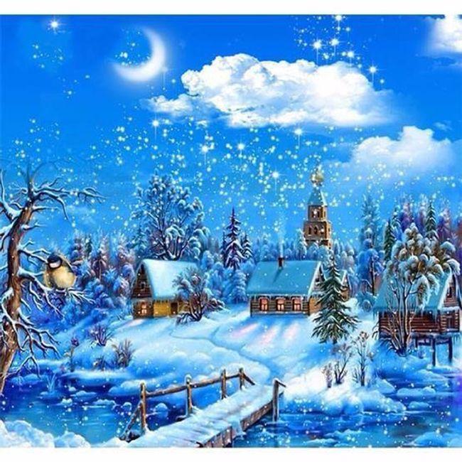 5D Zimní krajina 1