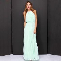Rochie lungă în design vintage - culori diferite