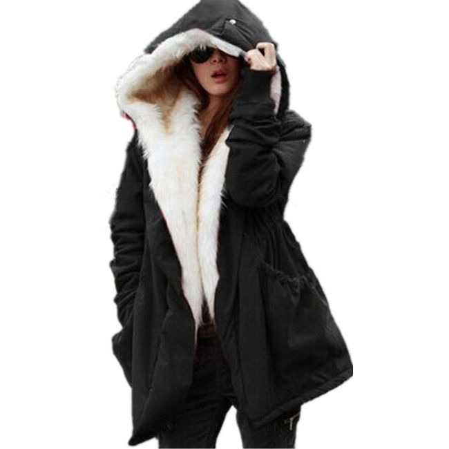 Ženska zimska jakna Adreea 1