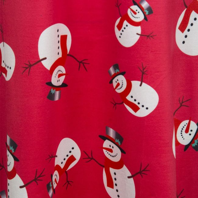 Karácsonyi ruha hóemberrel - 4 szín