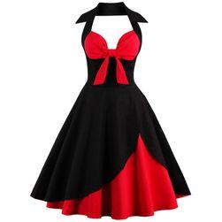Dámské retro šaty ve stylu 50. let