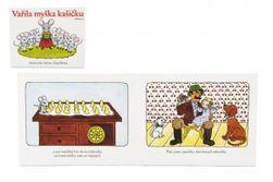Knížka Leporelo Vařila myška kašičku 16x12,5cm 2+ RM_10423852