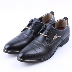 Мъжки официални обувки - 2 цвята