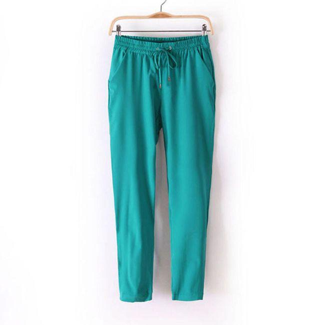 Ležérní elastické kalhoty - 7 barev 1