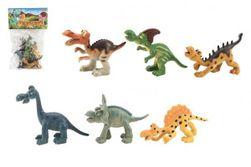 Dinosauři veselí plast 9-11cm 6ks v sáčku RM_00311415