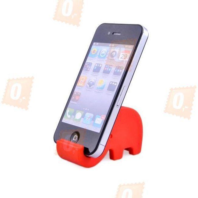 Stojaczek na telefon komórkowy w kształcie słonia - 2 kolory 1
