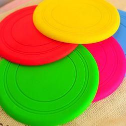 Farfurie zburătoare din silicon pentru câini - 4 culori