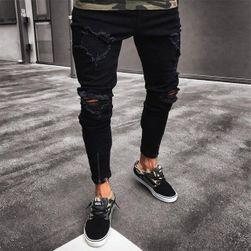 Pánske trhané džínsy - 8 variantov 1-veľkosť č. 2