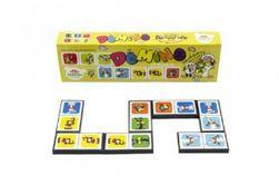 Domino Pojď s námi do pohádky 28ks společenská hra v krabičce 21x6x3cm RM_26010446