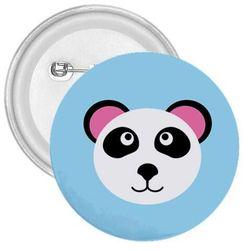 Kitűző panda