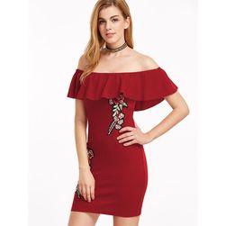 Dámské šaty s výšivkou - 2 barvy