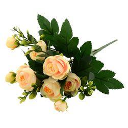 Изкуствени цветя в различни цветове