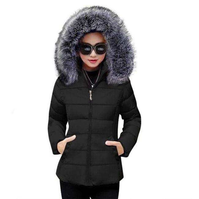 Dámská bunda s kapucí Nancy 1