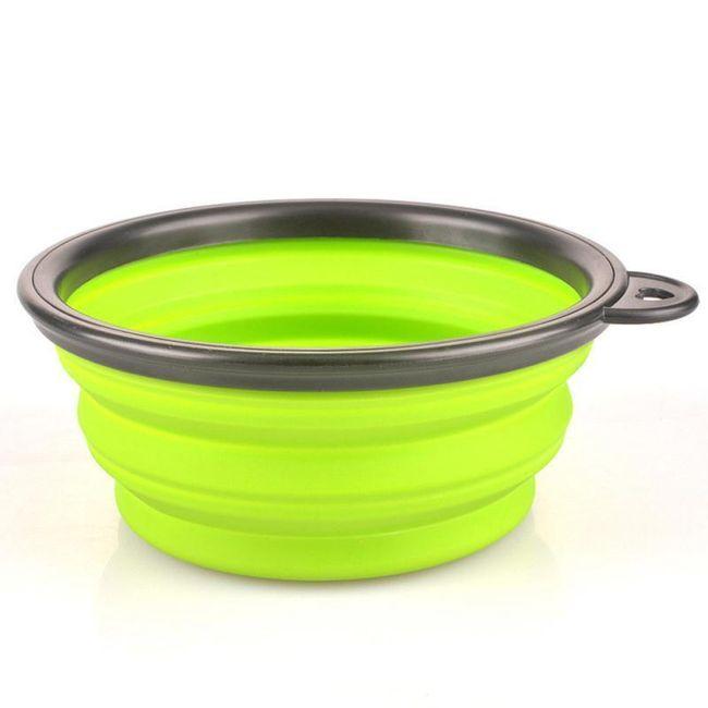 Miska skládací pro mazlíčky - 6 barev 1