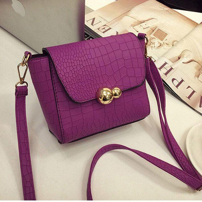 Dámská kabelka s popraskaným vzorem - 3 barvy 1