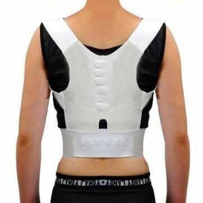 Elastická podpora zad pro lepší držení těla - XL - 87-91 cm 1