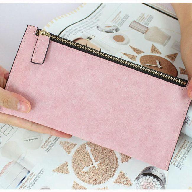 Dámská peněženka polodlouhá - 8 barev 1