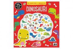 Zábavné úlohy s dinosaury s penovými samolepkami 20x20cm RM_91013738