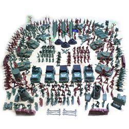 Набор игрушечных солдат WW2