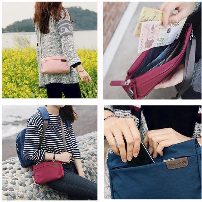 Női táska kis kirándulásokhoz