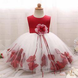 Dívčí šaty s bohatou sukní - 4 barvy