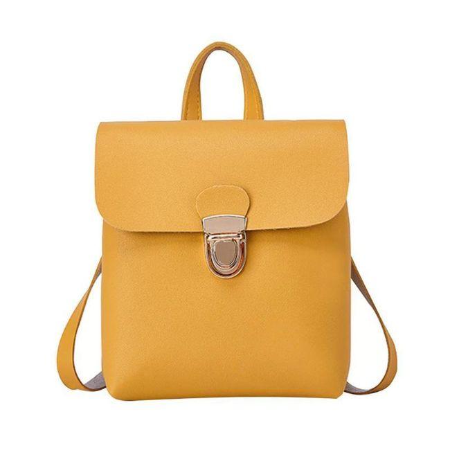 Malý dásmký batoh s umělé kůže - 5 barev 1