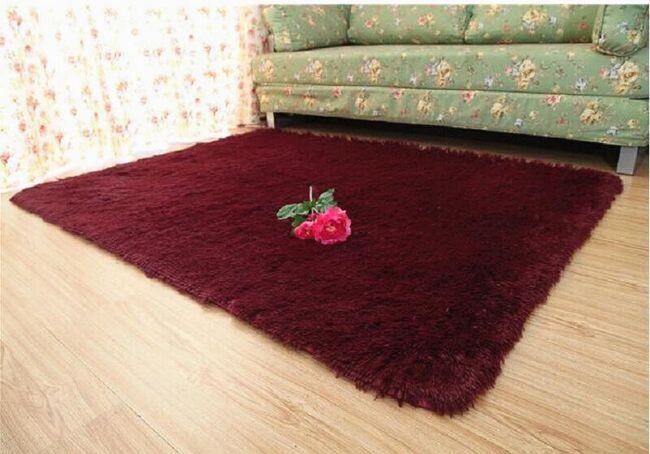 Chlupatý načechraný kobereček - 5 barev 1