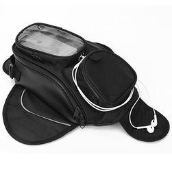Vodoodporna motociklistična torba s telefonskim oknom