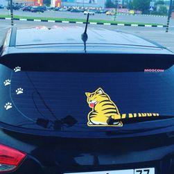 Nalepnica za automobil za zadnji brisač - Tigar