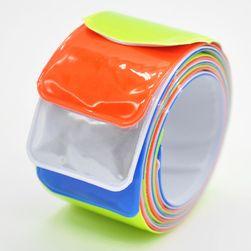 Komplet kolorowych opasek refleksyjnych - 4 sztuki