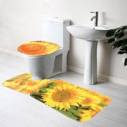 Sada koberečků do koupelny - Slunečnice